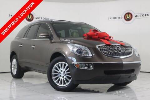 2012 Buick Enclave for sale at INDY'S UNLIMITED MOTORS - UNLIMITED MOTORS in Westfield IN