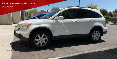 2008 Honda CR-V for sale at CASH OR PAYMENTS AUTO SALES in Las Vegas NV