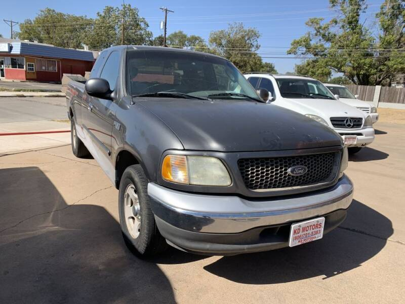 2002 Ford F-150 for sale at KD Motors in Lubbock TX