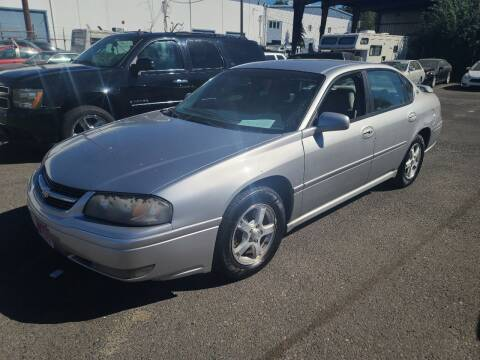 2005 Chevrolet Impala for sale at Kingz Auto LLC in Portland OR