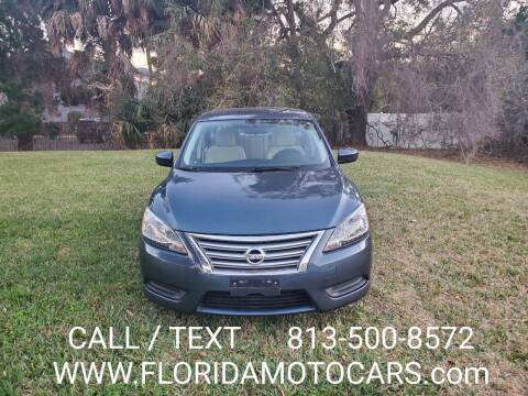 2015 Nissan Sentra for sale at Florida Motocars in Tampa FL