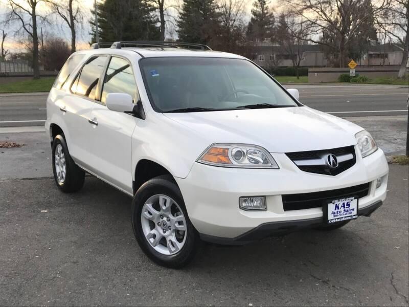 2005 Acura MDX for sale at KAS Auto Sales in Sacramento CA