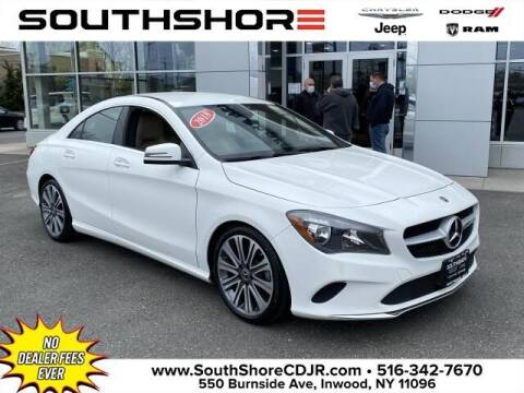 2018 Mercedes-Benz CLA for sale at South Shore Chrysler Dodge Jeep Ram in Inwood NY