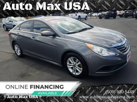 2014 Hyundai Sonata for sale at Auto Max USA in Yakima WA