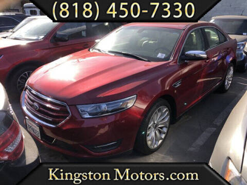 2014 Ford Taurus for sale at Kingston Motors in North Hollywood CA
