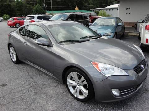 2011 Hyundai Genesis Coupe for sale at HAPPY TRAILS AUTO SALES LLC in Taylors SC