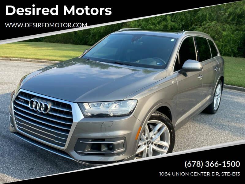 2017 Audi Q7 for sale at Desired Motors in Alpharetta GA