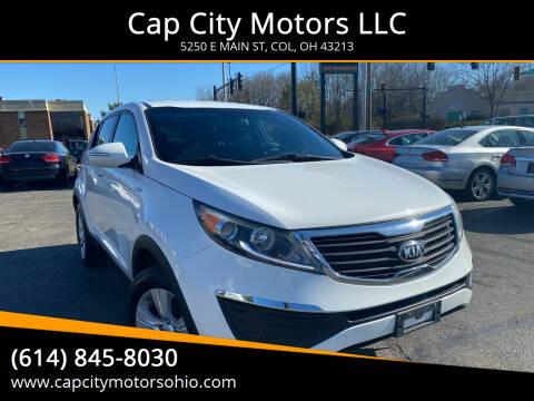 2013 Kia Sportage for sale at Cap City Motors LLC in Columbus OH