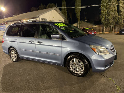 2006 Honda Odyssey for sale at Blue Diamond Auto Sales in Ceres CA