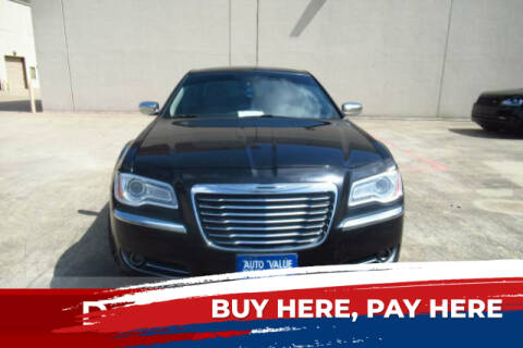 2011 Chrysler 300 for sale at AUTO VALUE FINANCE INC in Stafford TX