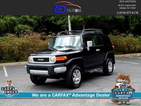 2010 Toyota FJ Cruiser for sale at Zed Motors in Raleigh NC