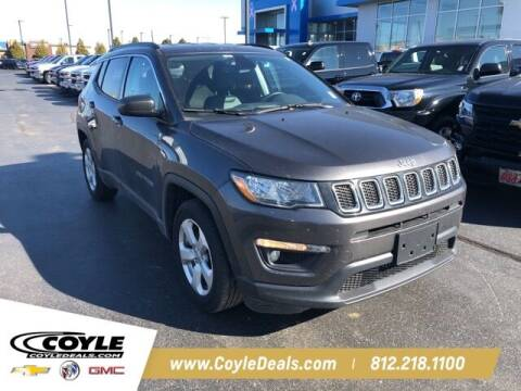 2019 Jeep Compass for sale at COYLE GM - COYLE NISSAN in Clarksville IN