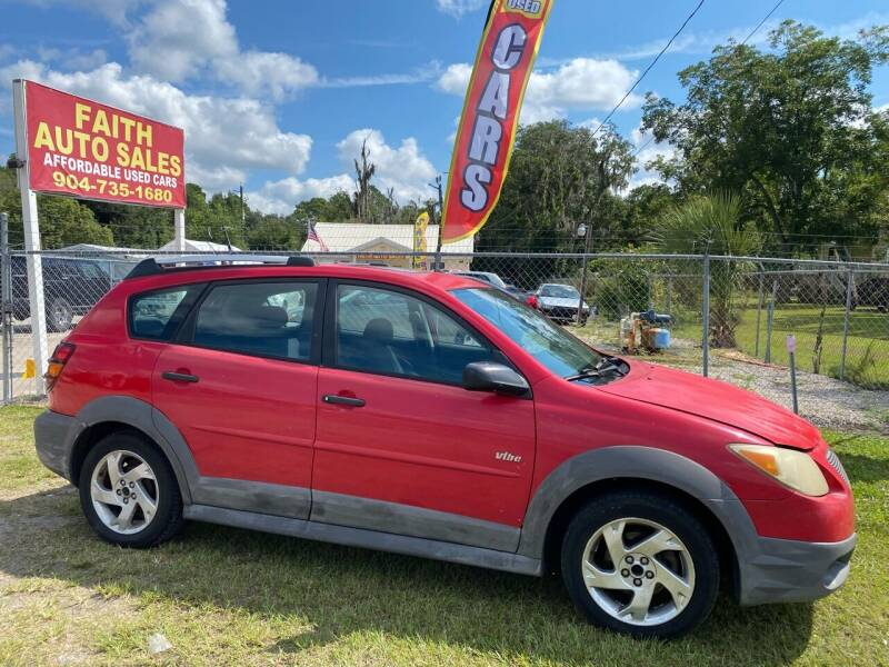 2005 Pontiac Vibe for sale at Faith Auto Sales in Jacksonville FL