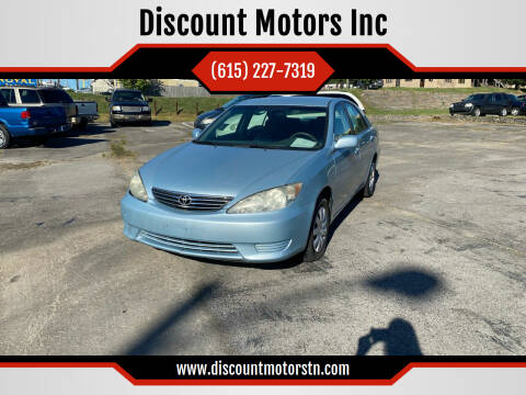 2005 Toyota Camry for sale at Discount Motors Inc in Nashville TN