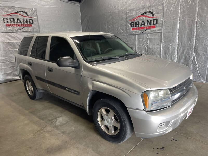 2004 Chevrolet TrailBlazer for sale at GRAND AUTO SALES in Grand Island NE