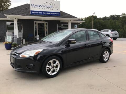 2013 Ford Focus for sale at Maryville Auto Sales in Maryville TN