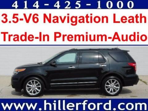 2014 Ford Explorer for sale at HILLER FORD INC in Franklin WI