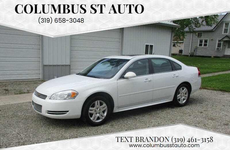 2013 Chevrolet Impala for sale at Columbus St Auto in Crawfordsville IA