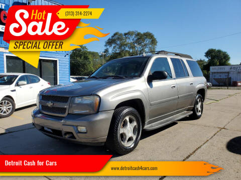 2006 Chevrolet TrailBlazer EXT for sale at Detroit Cash for Cars in Warren MI