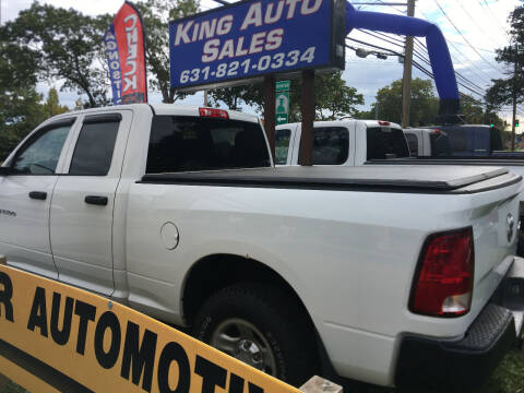 2012 RAM Ram Pickup 1500 for sale at King Auto Sales INC in Medford NY