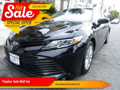 2018 Toyota Camry for sale at Popular Auto Mall Inc in Newark NJ