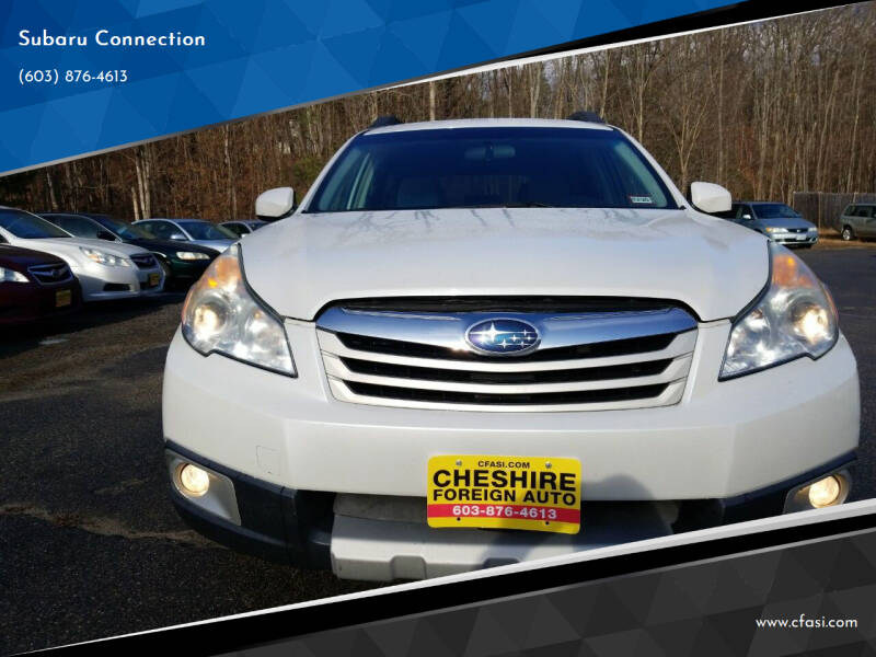 2010 Subaru Outback for sale at Subaru Connection in Marlborough NH