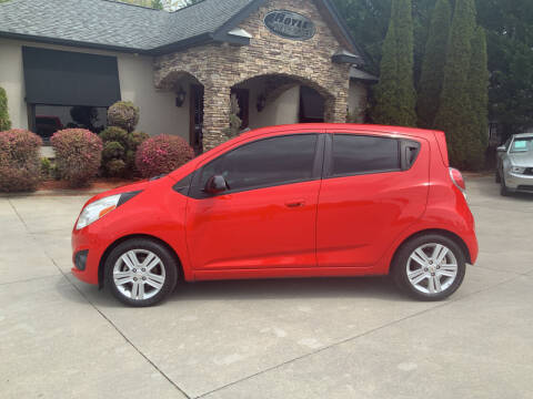2014 Chevrolet Spark for sale at Hoyle Auto Sales in Taylorsville NC
