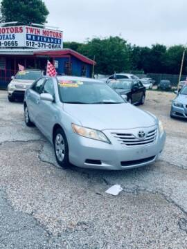 2007 Toyota Camry for sale at Twin Motors in Austin TX