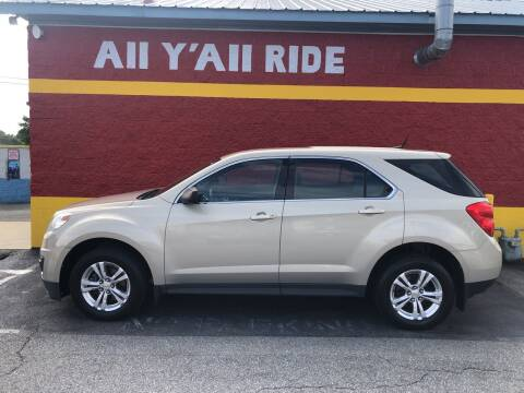 2012 Chevrolet Equinox for sale at Big Daddy's Auto in Winston-Salem NC