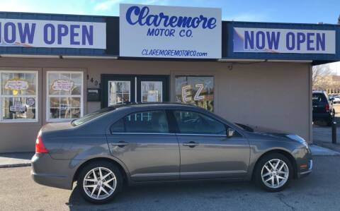 2012 Ford Fusion for sale at Claremore Motor Company in Claremore OK