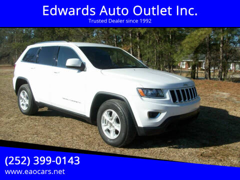 2014 Jeep Grand Cherokee for sale at Edwards Auto Outlet Inc. in Wilson NC