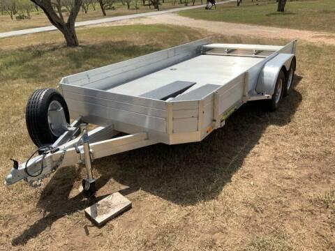 2018 Aluma aluminum car hauler