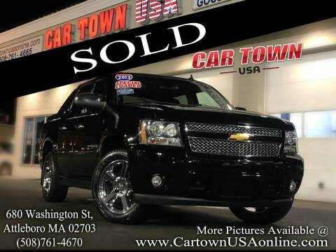 2013 Chevrolet Avalanche for sale at Car Town USA in Attleboro MA