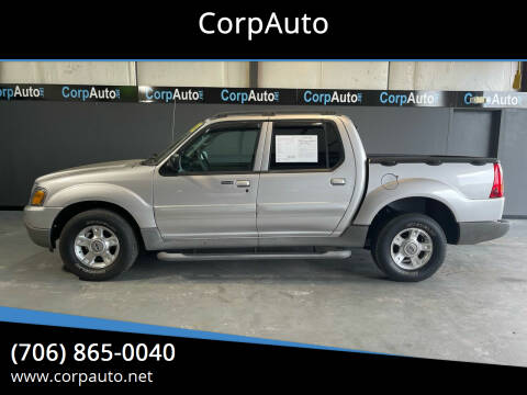 2003 Ford Explorer Sport Trac for sale at CorpAuto in Cleveland GA