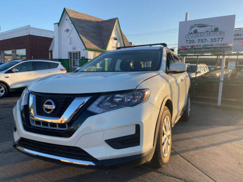 2017 Nissan Rogue for sale at GO GREEN MOTORS in Denver CO