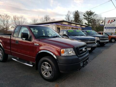 2006 Ford F-150 for sale at Highlands Auto Gallery in Braintree MA
