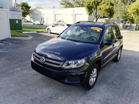 2016 Volkswagen Tiguan for sale at Best Price Car Dealer in Hallandale Beach FL