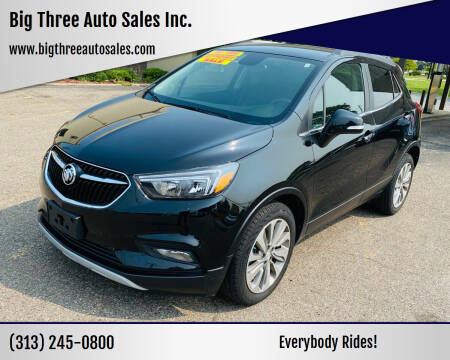 2017 Buick Encore for sale at Big Three Auto Sales Inc. in Detroit MI