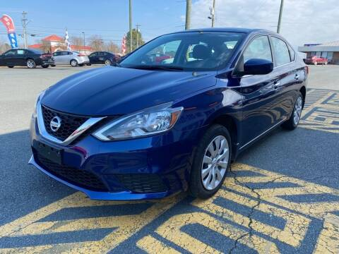 2017 Nissan Sentra for sale at Auto America - Monroe in Monroe NC
