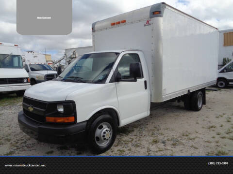 2011 Chevrolet Express Cutaway for sale at Miami Truck Center in Hialeah FL