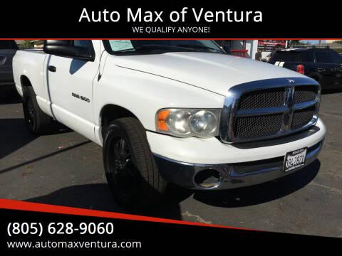 2005 Dodge Ram Pickup 1500 for sale at Auto Max of Ventura in Ventura CA