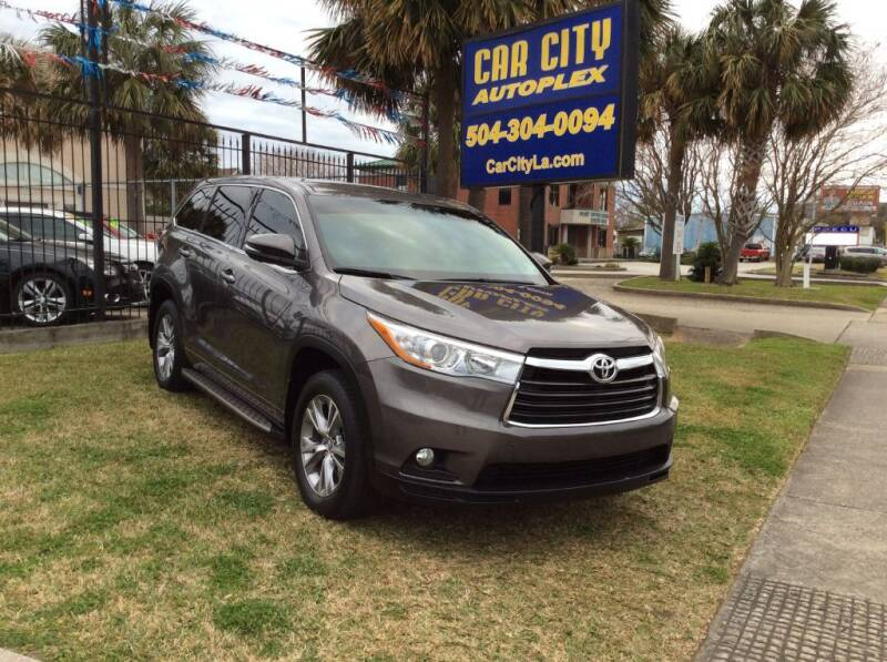2016 Toyota Highlander for sale at Car City Autoplex in Metairie LA