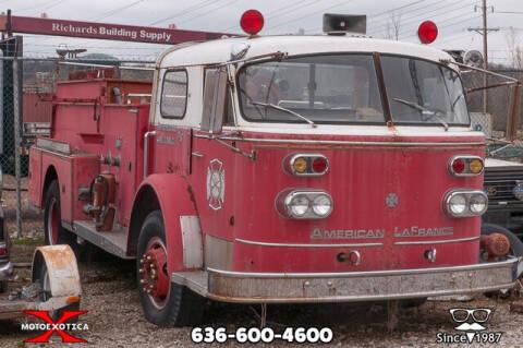 1964 American LaFrance Series 900 Pumper