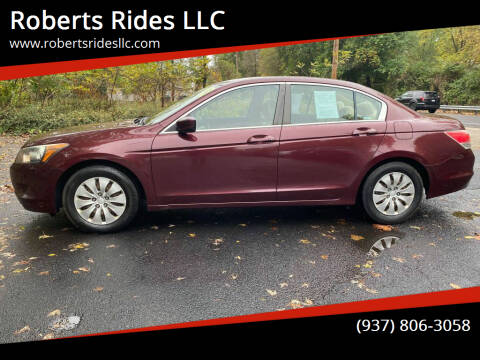 2009 Honda Accord for sale at Roberts Rides LLC in Franklin OH