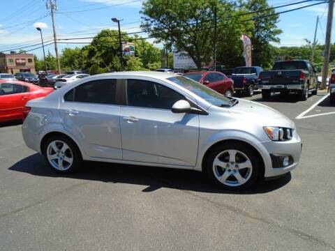 2012 Chevrolet Sonic for sale at Gemini Auto Sales in Providence RI