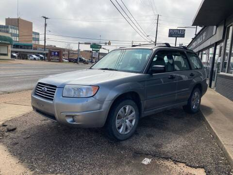 2008 Subaru Forester for sale at Peppard Autoplex in Nacogdoches TX