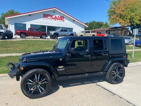 2008 Jeep Wrangler Unlimited for sale at Efkamp Auto Sales LLC in Des Moines IA