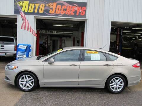 2016 Ford Fusion for sale at AUTO JOCKEYS LLC in Merrill WI