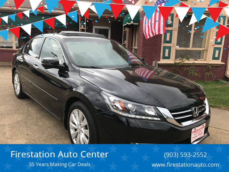 2013 Honda Accord for sale at Firestation Auto Center in Tyler TX