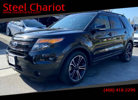 2015 Ford Explorer for sale at Steel Chariot in San Jose CA